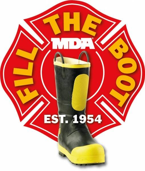 Marin Firefighters Raise More than $40,000 for MDA